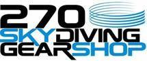 270 Skydiving GearShop. Material de paracaidismo.