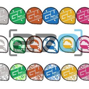 Placas laterales cookie G4, G4 side plates